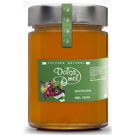 Miel de milflores cru 900g Miel