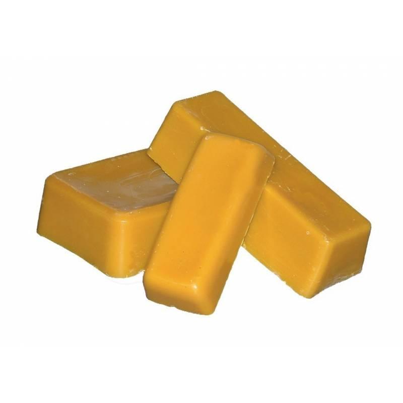 Cera de abeja en bloque 1kg CERAS