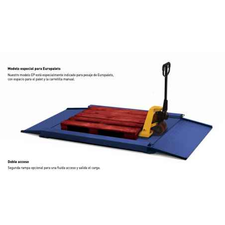 Balance au sol 1500kg K3-Penguin Manutention et Transhumance