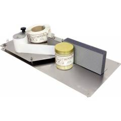 Manual label dispenser Swienty Honey filling machines
