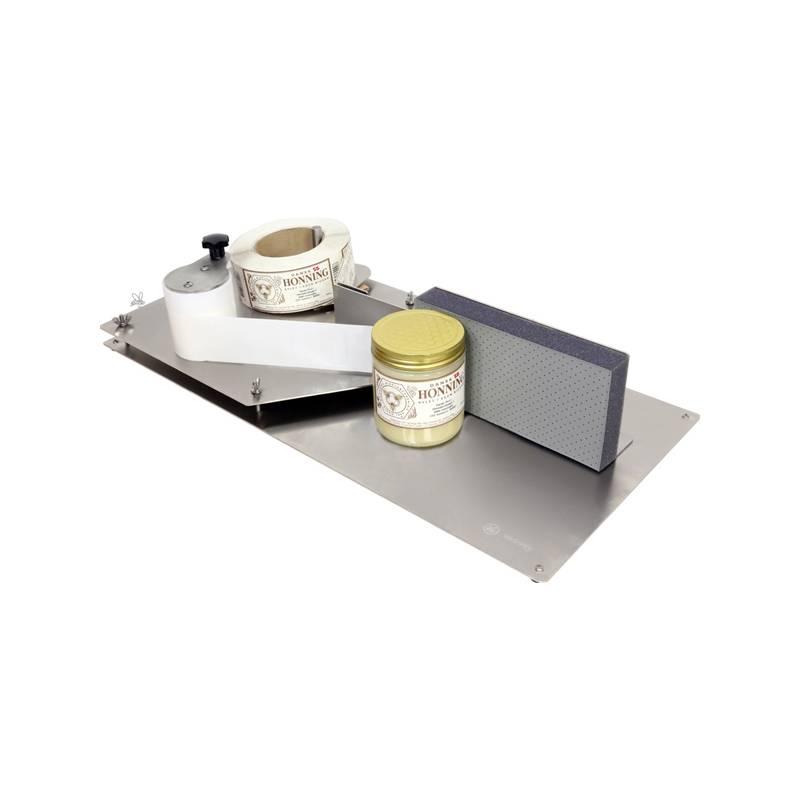 Etiquetadora manual Swienty Envasadoras de miel