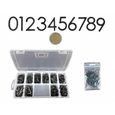 Numéros magnétiques 0-9 pour l'identifiant Identifier son Rucher