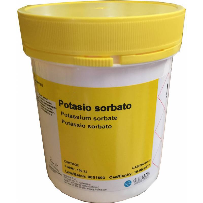 Potassium sorbate 250g Raw