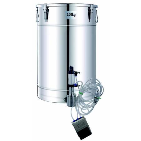 Válvula neumática para envasado fácil Envasadoras de miel