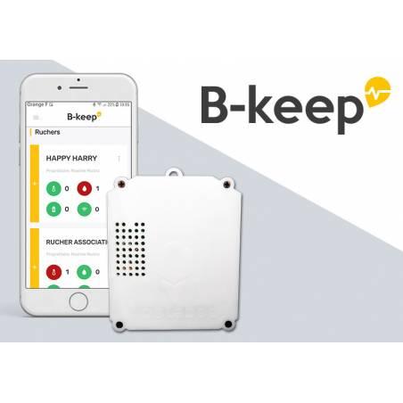 B-Keep Température et Humidité Balance de rucher et sécurité