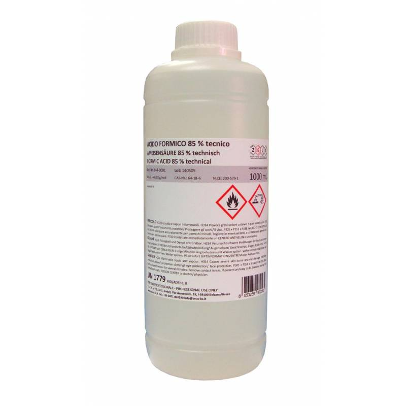 Formic Acid 85% 1L Cleansers and Maintenance