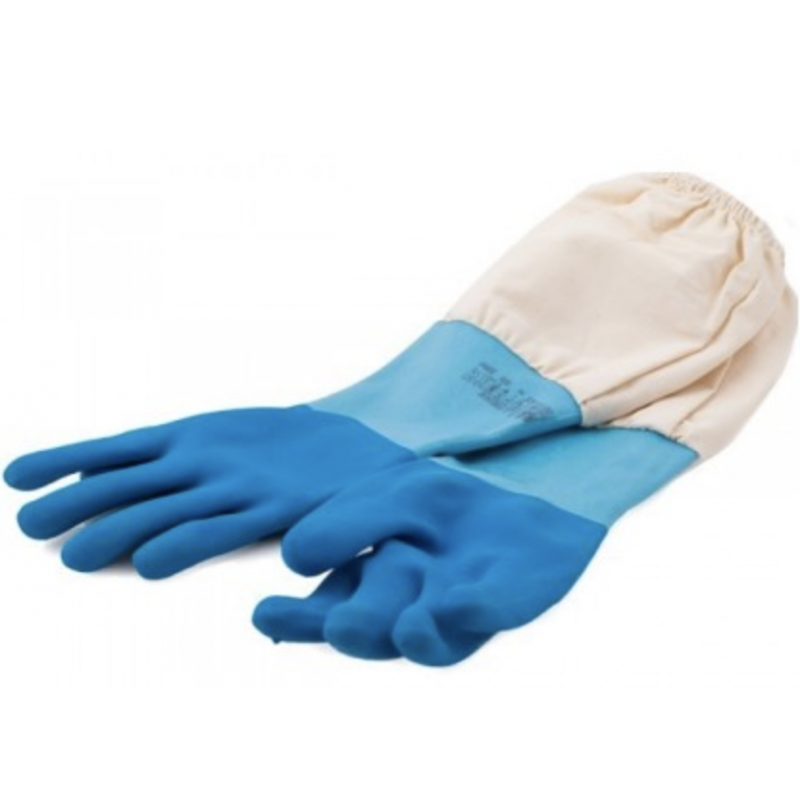 Blue Latex Gloves CLOTHING