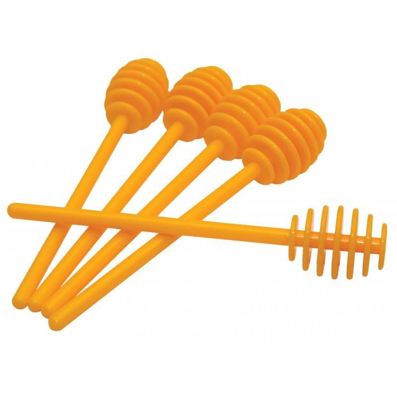 Plastic honey spoon Decoration