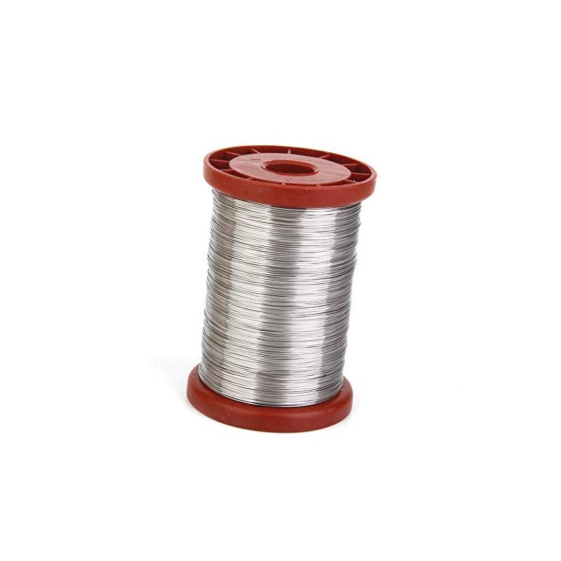 Galvanized frame wire spool 1Kg Beehive Accessories