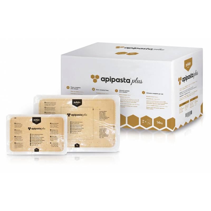 Apipasta plus protéine 14 kg (plateaux de 0,5 kg) Protéine