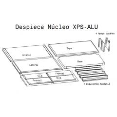 Nucleo ACTUARIA® Langstroth 3+3 NÚCLEOS