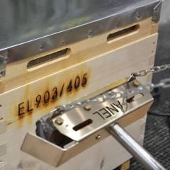 Marqueur Ruches électrique Identifier son Rucher