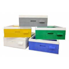 Plastic Langstroth supers Plastic beehives and frames