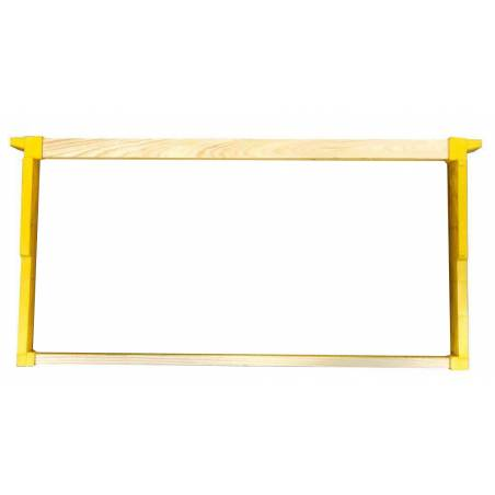 Langstroth frame with plastic end bars Plastic beehives and frames