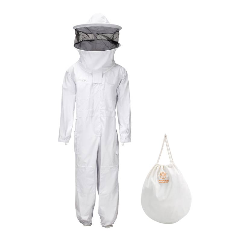 Beekeeper suit with round veil CLOTHING
