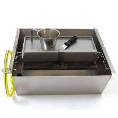 Machine d'estampage à cire réfrigérée DOUBLE Machine à gaufrer
