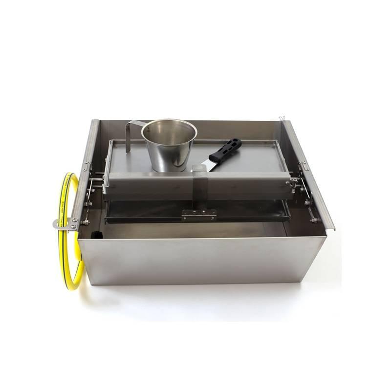 Estampadora de cera DOBLE refrigerada Estampadora de láminas