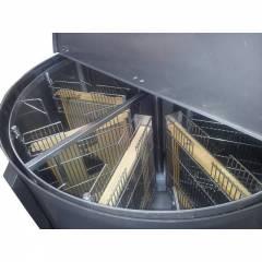 Extractor 12 cuadros universal reversible MQ Extractores de miel