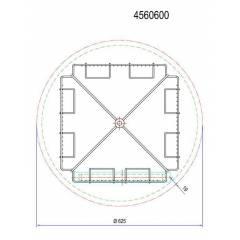 Extractor FALCO tangencial motor 4/8 universal TOP Extractores Tangenciales