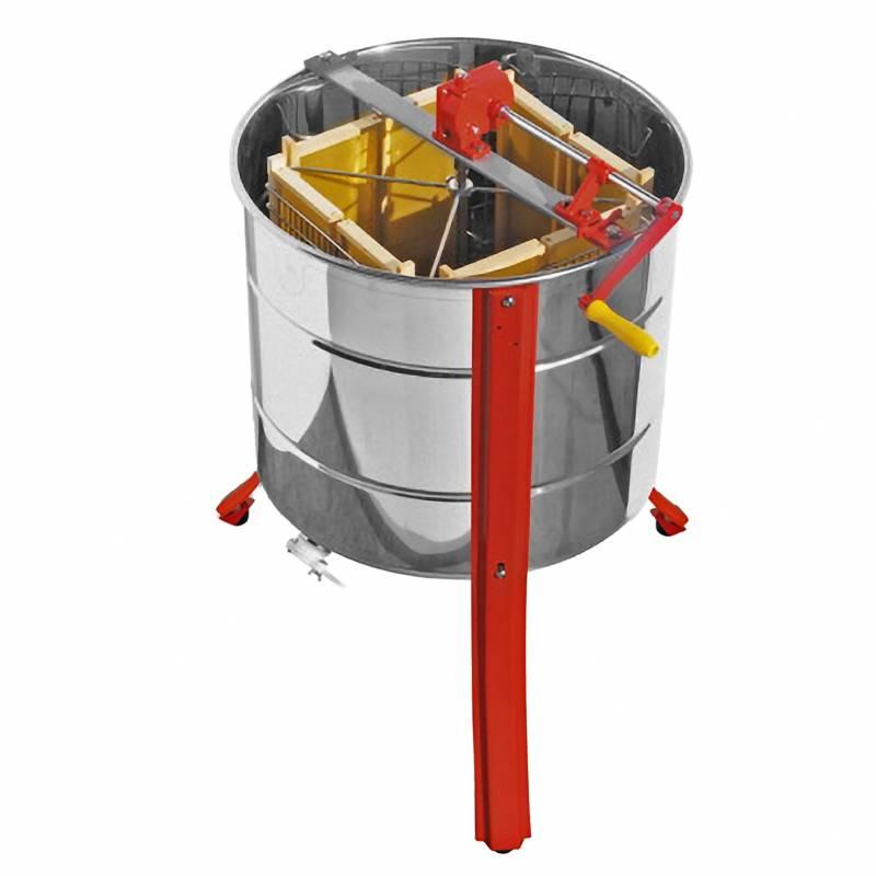 Extracteur de miel manuel 4 cadres PRO Lega Extracteurs du miel