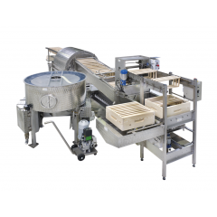 ICKO Honey extracting line with Spinfloat Honey Extracting Lines