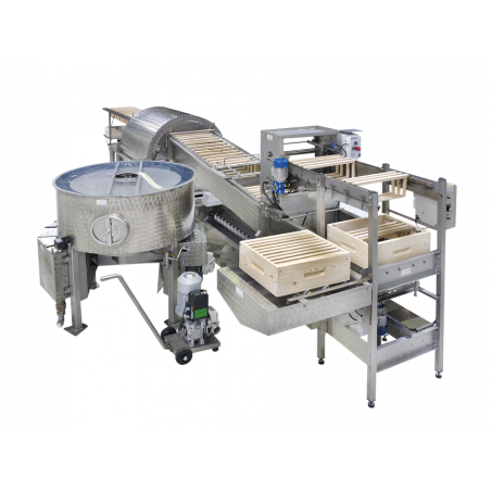 ICKO Honey extracting line with Spinfloat Extraction lines