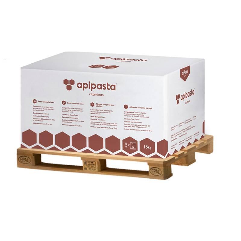 Palet de Apipasta con vitaminas 1050kg Mantenimiento