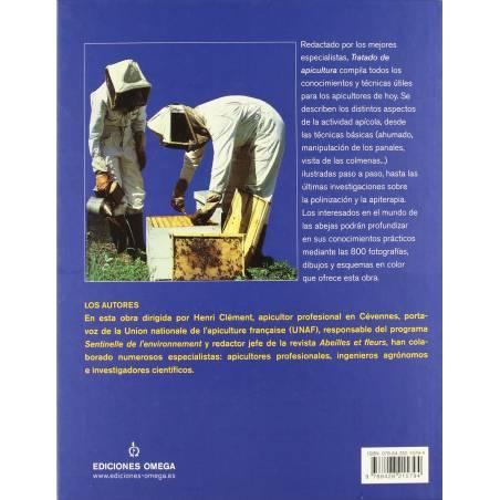 Spanish book Tratado de Apicultura Beekeeping books