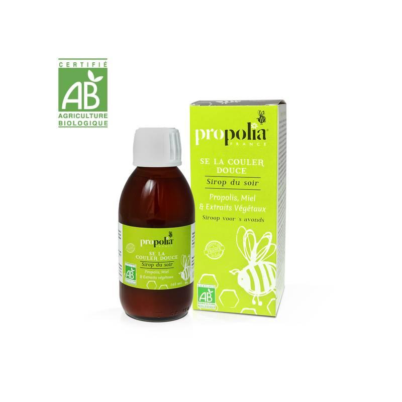 Jarabe de garganta BIO con Propóleo y miel Propolia© Propóleos