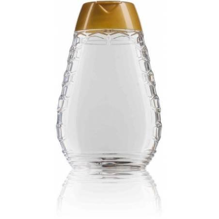 Squeeze Honey jar 350g Plastic packaging