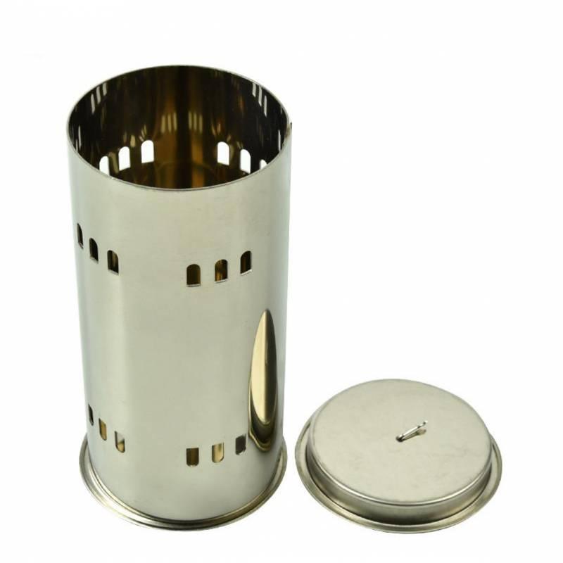 Récipient métallique idéal pour la combustion Accessoires de désinfection des ruches