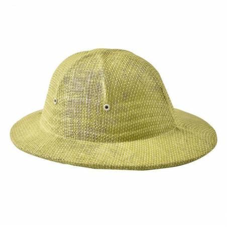 Sombrero colonial de paja Caretas y accesorios