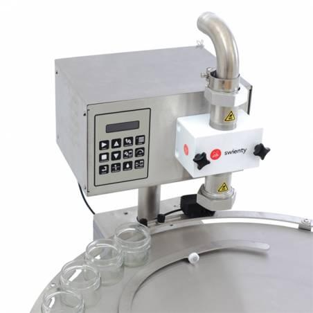Envasadora DANA® 1000 con mesa rotativa Envasadoras de miel