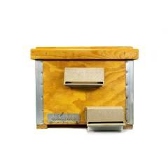 Varroa cleaner brush box Complementary fight against varroa
