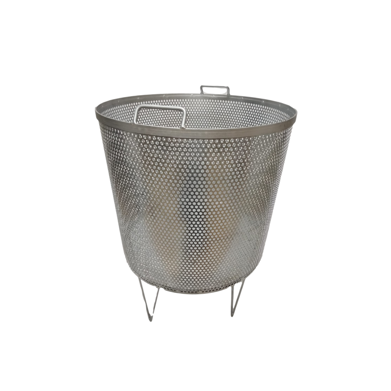 Strainer with basket for honey drums Honey Strainers