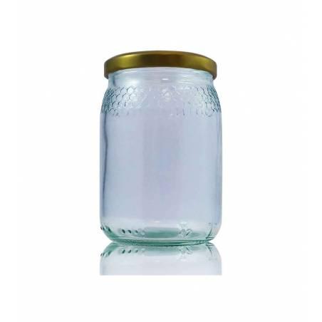 Pot en verre 212ml cellulles Pots en verre