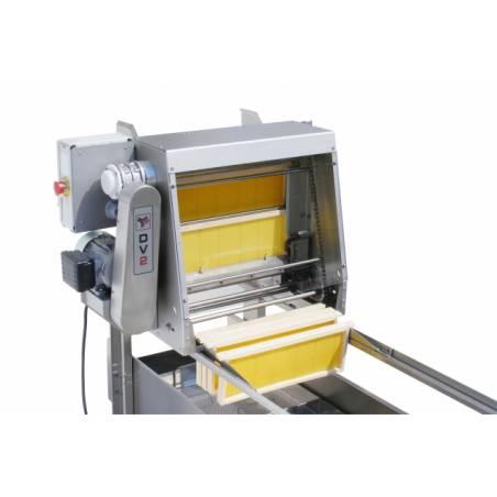 Desoperculadora DV2 vertical cuchillas vibrantes Desoperculadoras