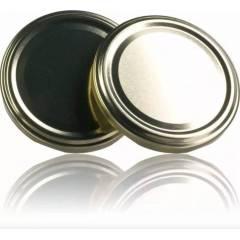 Couvercle TO 58 Doré Pasteurisation sans bouton Couvercles