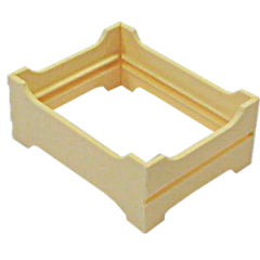 Plastic section for honey comb NICOT Beehive Accessories