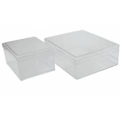 Caja transparente para miel en panal NICOT Envases de plástico