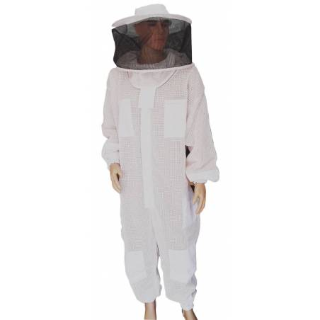 Vented Suit with Round Veil Bee suits