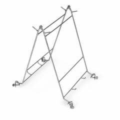 Frame holder for drums Uncapping tools