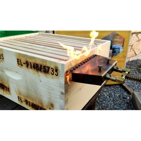 Marqueur à feu pour ruches d'abeilles 14 char. Identifier son Rucher