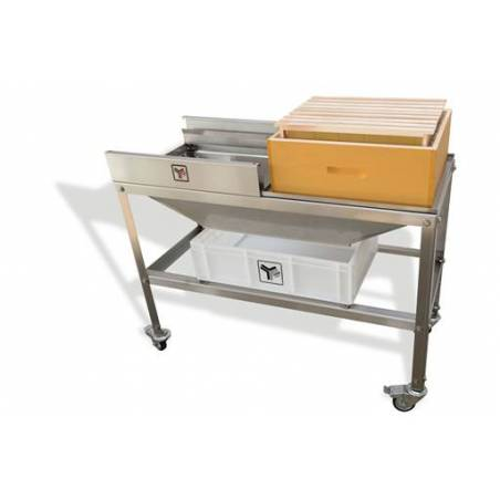 Manual frame separator trolley Uncapping machines