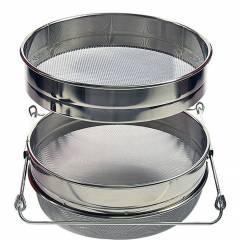 Filtre à double tamis en acier inoxydable Filtres et Passoires
