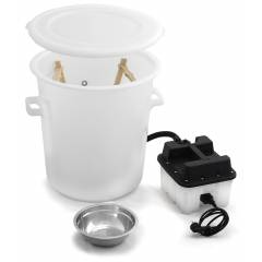 Plastic wax melter with steamer Bee Wax melters