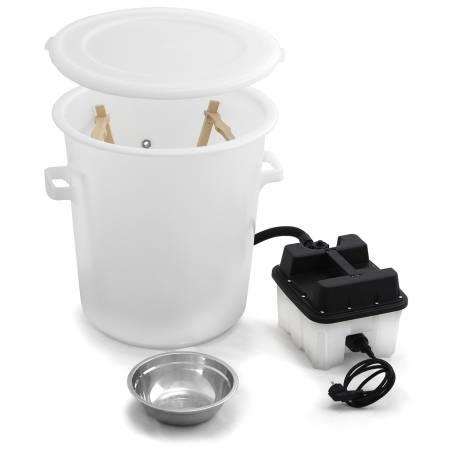Chaudière à cire plastique avec générateur vapeur Cérificateurs et chaudières