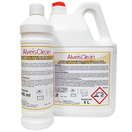 AlveisClean® (removal of propolis and wax) Cleansers and Maintenance