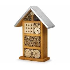 Hôtel à insectes Capture des essaims