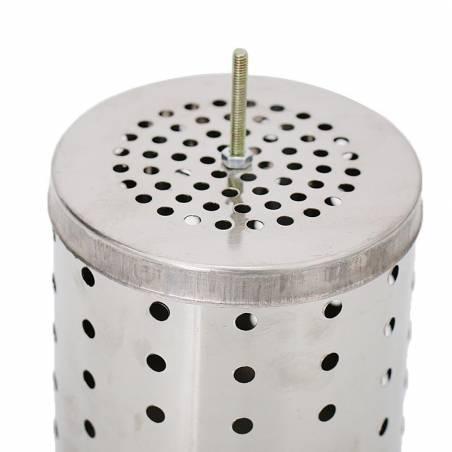 Chambre inox à combustion pour enfumoir Enfumoirs